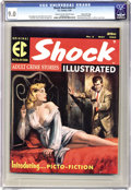 Magazines:Crime, Shock Illustrated #3 Gaines File pedigree 8/11 (EC, 1956) CGC VF/NM9.0 Cream to off-white pages. Low, low, low distribu...