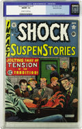 Golden Age (1938-1955):Horror, Shock SuspenStories #1 Gaines File pedigree 8/11 (EC, 1952) CGC NM/MT 9.8 Off-white to white pages. Al Feldstein's electrocu...