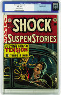 Golden Age (1938-1955):Horror, Shock SuspenStories #4 Gaines File pedigree 9/12 (EC, 1952) CGC NM+9.6 Off-white to white pages. This issue's cover artist,...