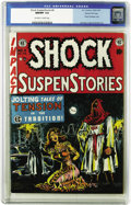 Golden Age (1938-1955):Horror, Shock SuspenStories #6 Gaines File Copy 4/12 (EC, 1952) CGC NM/MT9.8 Off-white to white pages. This title is rife with rive...