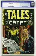 Golden Age (1938-1955):Horror, Tales From the Crypt #21 Gaines File pedigree 3/10 (EC, 1951) CGCNM/MT 9.8 Off-white pages. All the ingredients that made E...