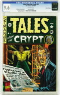 Golden Age (1938-1955):Horror, Tales From the Crypt #21 1/10 (EC, 1951) CGC NM+ 9.6 Off-whitepages. Early New Trend issue has Al Feldstein stories, cover,...
