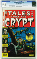 Golden Age (1938-1955):Horror, Tales From the Crypt #22 Gaines File pedigree 1/10 (EC, 1951) CGCNM+ 9.6 Off-white to white pages. The third issue of this ...