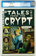 Golden Age (1938-1955):Horror, Tales From the Crypt #23 Gaines File pedigree 1/10 (EC, 1951) CGCNM+ 9.6 Off-white to white pages. This issue features an A...