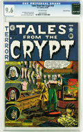 Golden Age (1938-1955):Horror, Tales From the Crypt #25 Gaines File pedigree 2/12 (EC, 1951) CGCNM+ 9.6 Off-white pages. Ah, the old house of wax strikes ...