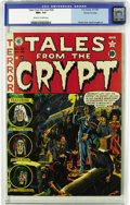 Golden Age (1938-1955):Horror, Tales From the Crypt #26 Gaines File pedigree 3/12 (EC, 1951) CGCNM+ 9.6 Off-white to white pages. Wally Wood turns in his ...