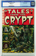 Golden Age (1938-1955):Horror, Tales From the Crypt #30 Gaines File pedigree 1/12 (EC, 1952) CGCNM/MT 9.8 Off-white pages. This comic features a Jack Davi...
