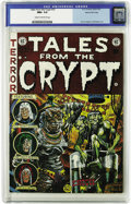 Golden Age (1938-1955):Horror, Tales From the Crypt #33 Gaines File pedigree 3/12 (EC, 1952) CGCNM+ 9.6 Cream to off-white pages. EC fans finally learned ...