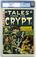 Golden Age (1938-1955):Horror, Tales From the Crypt #34 Gaines File pedigree (EC, 1953) CGC NM+9.6 Cream pages. No copy of this issue has been graded high...