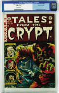 Golden Age (1938-1955):Horror, Tales From the Crypt #35 Gaines File pedigree 1/11 (EC, 1953) CGCNM+ 9.6 Off-white pages. A Gaines File book is always a pr...