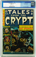 Golden Age (1938-1955):Horror, Tales From the Crypt #36 Gaines File pedigree 3/10 (EC, 1953) CGCNM+ 9.6 Off-white to white pages. EC did two kinds of Ray ...