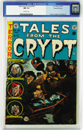 Golden Age (1938-1955):Horror, Tales From the Crypt #42 Gaines File pedigree 3/12 (EC, 1954) CGCNM 9.4 Off-white pages. After the first few issues of the ...