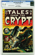 Golden Age (1938-1955):Horror, Tales From the Crypt #45 Gaines File pedigree 3/12 (EC, 1954) CGCNM 9.4 Off-white to white pages. Jack Davis cover. Davis, ...