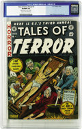 "Golden Age (1938-1955):Horror, Tales of Terror Annual #3 (EC, 1953) CGC VF/NM 9.0 Cream tooff-white pages. ""Bondage/torture"" is Overstreet's notation abou..."
