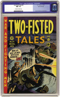 Golden Age (1938-1955):War, Two-Fisted Tales #24 Gaines File pedigree 3/10 (EC, 1951) CGC NM+9.6 Off-white to white pages. Triple-threat Harvey Kurtzma...