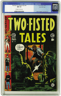 Two-Fisted Tales #41 Gaines File pedigree (EC, 1955) CGC NM 9.4 Off-white to white pages. The last issue of Two-Fisted s...