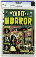 Golden Age (1938-1955):Horror, Vault of Horror #18 Gaines File pedigree 5/12 (EC, 1951) CGC NM+9.6 Off-white to white pages. Johnny Craig turns in a cover...