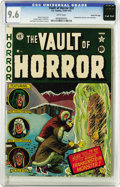 Golden Age (1938-1955):Horror, Vault of Horror #22 Gaines File pedigree 2/12 (EC, 1951) CGC NM+9.6 White pages. EC was known for swiping a story idea here...