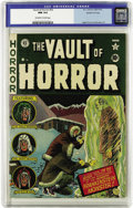 Golden Age (1938-1955):Horror, Vault of Horror #22 Gaines File pedigree 1/12 (EC, 1951) CGC NM 9.4Off-white to white pages. Everyone's favorite patch-work...