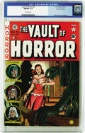 Golden Age (1938-1955):Horror, Vault of Horror #23 Gaines File pedigree 3/12 (EC, 1952) CGC NM/MT9.8 Off-white pages. This issue got a mention in the book...