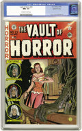 Golden Age (1938-1955):Horror, Vault of Horror #23 Gaines File pedigree (EC, 1952) CGC NM+ 9.6Off-white to white pages. This issue has gained special noto...