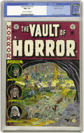 Golden Age (1938-1955):Horror, Vault of Horror #27 Gaines File pedigree 9/12 (EC, 1952) CGC NM+9.6 Off-white to white pages. Beware of the Blob, it cree...