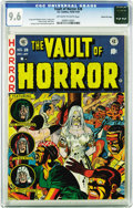 Golden Age (1938-1955):Horror, Vault of Horror #28 Gaines File pedigree 11/12 (EC, 1953) CGC NM+9.6 Off-white to white pages. One of Johnny Craig's most f...