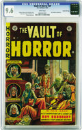 Golden Age (1938-1955):Horror, Vault of Horror #29 Gaines File pedigree 1/11 (EC, 1953) CGC NM+9.6 White pages. A Ray Bradbury adaptation is featured in a...