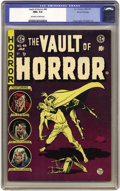 Golden Age (1938-1955):Horror, Vault of Horror #40 Gaines File pedigree (EC, 1954) CGC NM+ 9.6Off-white to white pages. This is the last issue of this tit...