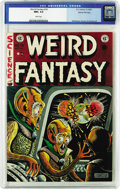Golden Age (1938-1955):Science Fiction, Weird Fantasy #16 Gaines File pedigree 3/12 (EC, 1952) CGC NM+ 9.6White pages. Not only did this issue offer another stunni...