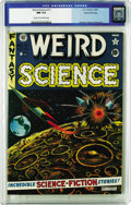 Golden Age (1938-1955):Science Fiction, Weird Science #11 Gaines File pedigree 10/12 (EC, 1952) CGC NM 9.4Cream to off-white pages. A sensational Al Feldstein cove...