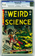 Golden Age (1938-1955):Horror, Weird Science #22 Gaines File pedigree 8/11(EC, 1953) CGC NM 9.4Off-white to white pages. This was the final issue of the t...