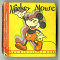 Platinum Age (1897-1937):Miscellaneous, Big Little Book #717 Mickey Mouse Second Printing Signed by Floyd Gottfredson (Whitman, 1933) Condition: GD. Second printing...