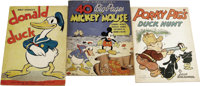 Oversize Early Comic Character Story Books (Various, 1935-38) Condition: Average VG. Three oversize children's books: Do...