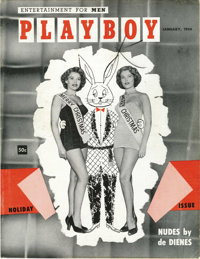 Playboy #2 (HMH Publishing, 1954) Condition: VF-. The second issue may be the rarest of all, even harder to find than th...