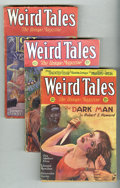 Pulps:Horror, Weird Tales (Pulp) Group (Popular Fiction, 1931). This lot consistsof the issues from Jan/31 (GD/VG); Feb-Mar/31 (GD, coupo... (Total:6 Items)