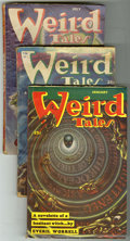 Pulps:Horror, Weird Tales (Pulp) Group (Popular Fiction, 1953-54). This lotconsists of the issues from Jan/53 (FN); March/53 (GD/VG); Jul...(Total: 11 Items)
