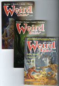 Pulps:Horror, Weird Tales Group (Terminus Publishing, 1973-2005) Condition:Average VF. This box of Weird Tales paperbacks, magazines,...(Total: 52 Items)