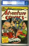 Golden Age (1938-1955):Superhero, Adventure Comics #85 Mile High pedigree (DC, 1943) CGC NM- 9.2 White pages. This remains the only copy of the issue certifie...