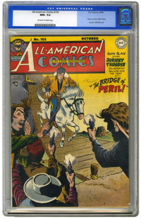 All-American Comics #102 (DC, 1948) CGC NM+ 9.6 Off-white to white pages. The last issue of one of DC's most significant...