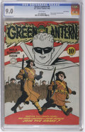 Golden Age (1938-1955):Superhero, Green Lantern #4 San Francisco pedigree (DC, 1942) CGC VF/NM 9.0 White pages. Just as the original owner of the San Francisc...