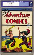 Platinum Age (1897-1937):Miscellaneous, New Adventure Comics #19 (DC, 1937) CGC VF 8.0 Cream to off-whitepages. This issue, also known as V2#7, is from only the se...