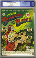 Golden Age (1938-1955):Religious, Picture Stories from the Bible Old Testament Edition #3 Gaines Filepedigree (DC, 1943) CGC NM+ 9.6 Off-white to white pages....