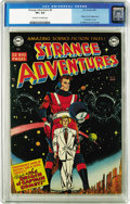 Golden Age (1938-1955):Science Fiction, Strange Adventures #9 (DC, 1951) CGC VF+ 8.5 Cream to off-whitepages. Captain Comet, DC's first big hero of the post-war sc...