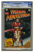 Golden Age (1938-1955):Science Fiction, Strange Adventures #9 (DC, 1951) CGC VF+ 8.5 Off-white pages. Theorigin and first appearance of Captain Comet were in this ...