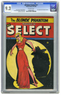 Golden Age (1938-1955):Superhero, All Select Comics #11 (Timely, 1946) CGC NM- 9.2 Off-white pages. The Blonde Phantom made her sexy, stylish debut on this wo...