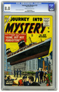 Silver Age (1956-1969):Horror, Journey Into Mystery #23 (Marvel, 1955) CGC VF 8.0 Cream tooff-white pages. We haven't seen a copy of this book since never...