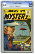 Golden Age (1938-1955):Horror, Journey Into Mystery #25 (Marvel, 1955) CGC VF/NM 9.0 Cream tooff-white pages. This pre-hero issue features art by future S...