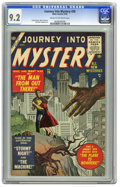 Golden Age (1938-1955):Science Fiction, Journey Into Mystery #26 (Marvel, 1955) CGC NM- 9.2 Cream tooff-white pages. Pre-hero issues of this title in NM- are not s...