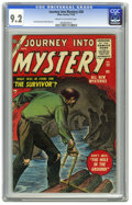 Golden Age (1938-1955):Horror, Journey Into Mystery #28 (Marvel, 1955) CGC NM- 9.2 Cream tooff-white pages. Here's an extremely nice high-grade copy of an...